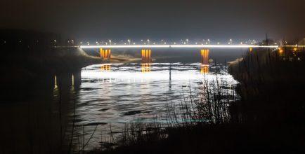 Мост через реку ЗДвина (со стороны города) (3)
