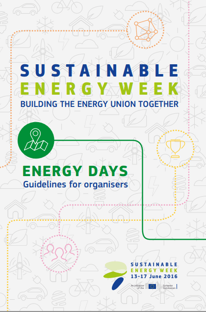 Guidelines for organisers on holding a Sustainable Energy Week (2016,Eng.)