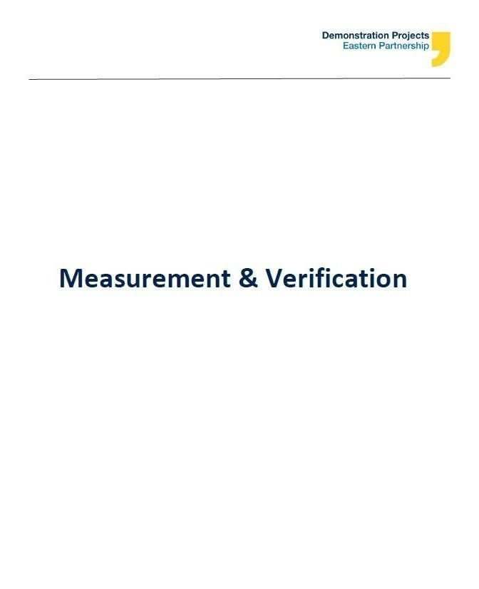 Measurement & Verification Guidelines